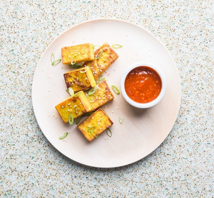 """This """"Tofu"""" Recipe Convinced Us That Chickpea Flour Is a Miracle Food"""