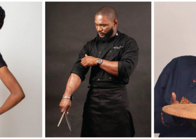 Collaborating with celebrity chefs in London, Paris and West Africa