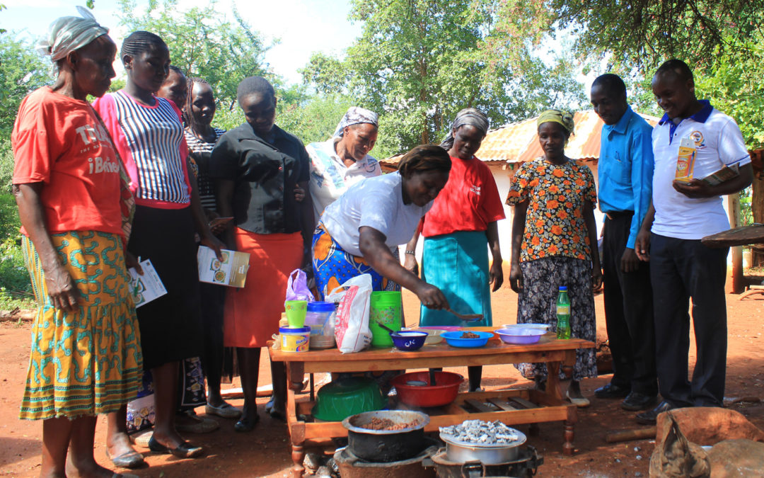Promoting Dietary Diversity in Kenya through Cooking and Nutrition Extension