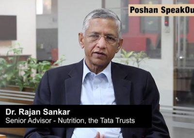 Nutrition And Health Are Important Drivers Of Growth, Community Participation Key To Fighting Malnutrition: Dr Rajan Sankar Of Tata Trusts
