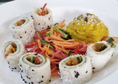 Millet Sushi and Pumpkin Pineapple Dip recipes: An innovative way to add more millet to your platter