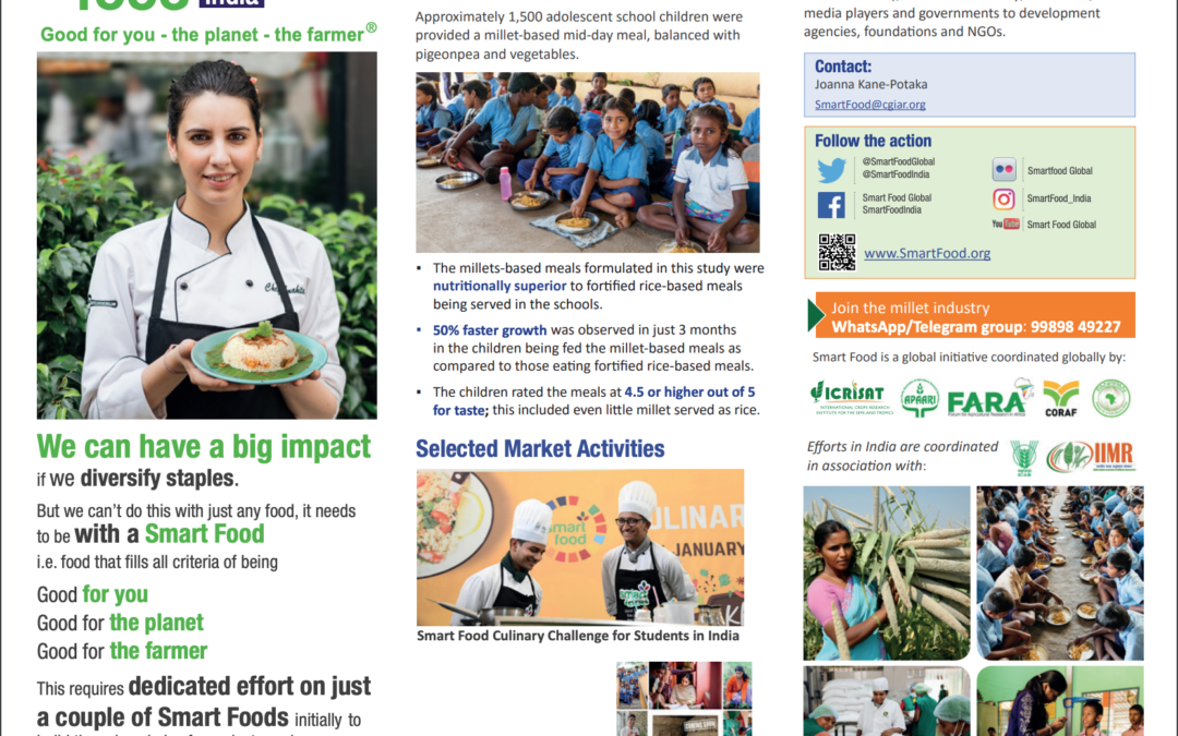 Smart Food India: Good for you – the planet – the farmer