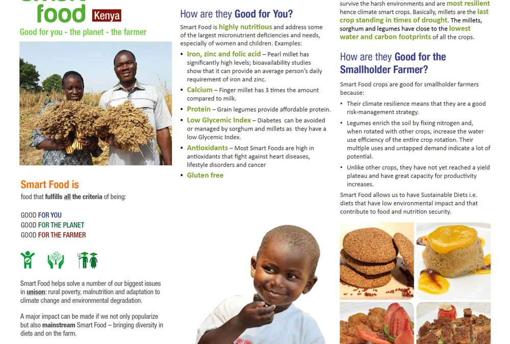 Smart Food Kenya: Good for you – the planet – the farmer