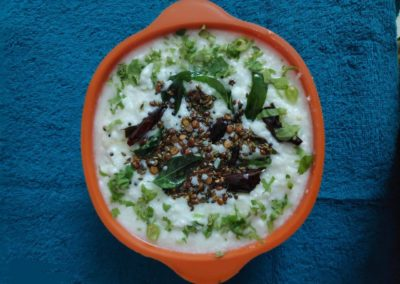 Little Millet Curd Rice