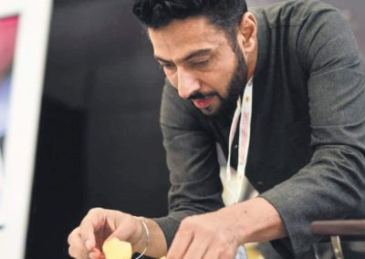 Chef Ranveer Brar talks about sustainable cooking by using alternate grains like amaranth & millets