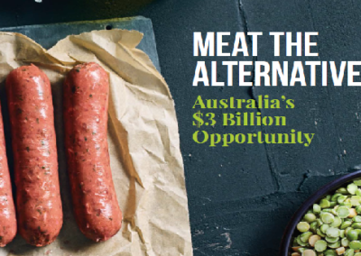 The Plant-Based Meat Industry Could Add $3 Billion to Australia's Economy: Report
