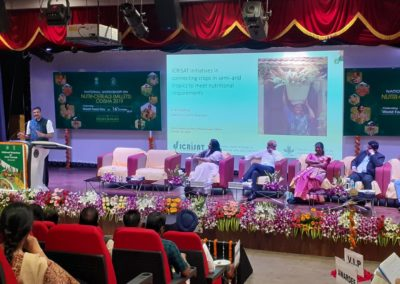 National Workshop on Nutricereals (Millets) 16 Oct 2019, Odisha