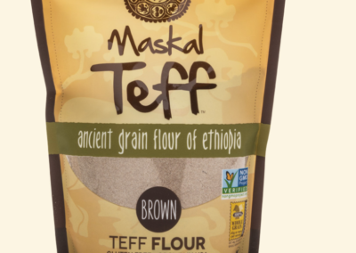 Maskal Teff Brown Flour by The Teff Company