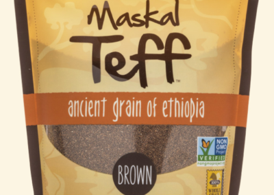 Maskal Teff Brown Teff Grain by The Teff Company