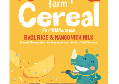 Rice Ragi and Mango Cereal by SlurrpFarm
