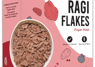 Organic Ragi Flakes by Murginns, KCL Ltd