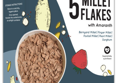 5 Millet Flakes by Murginns, KCL Ltd