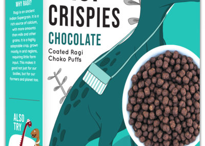 Ragi Crispies – Chocolate by Murginns, KCL Ltd
