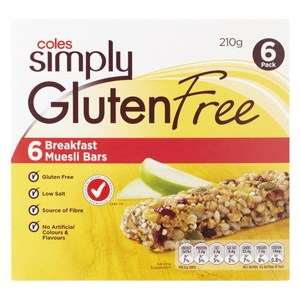 6 Breakfast Museli Bars by Coles