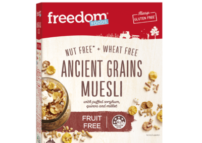 Ancient Grains Museli by Freedom Foods Pty Ltd