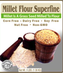 Millet Flour Superfine by Authentic foods