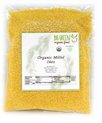 Organic Foxtail Millet by BGreen Food