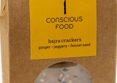 Bajra Crackers by Conscious Foods