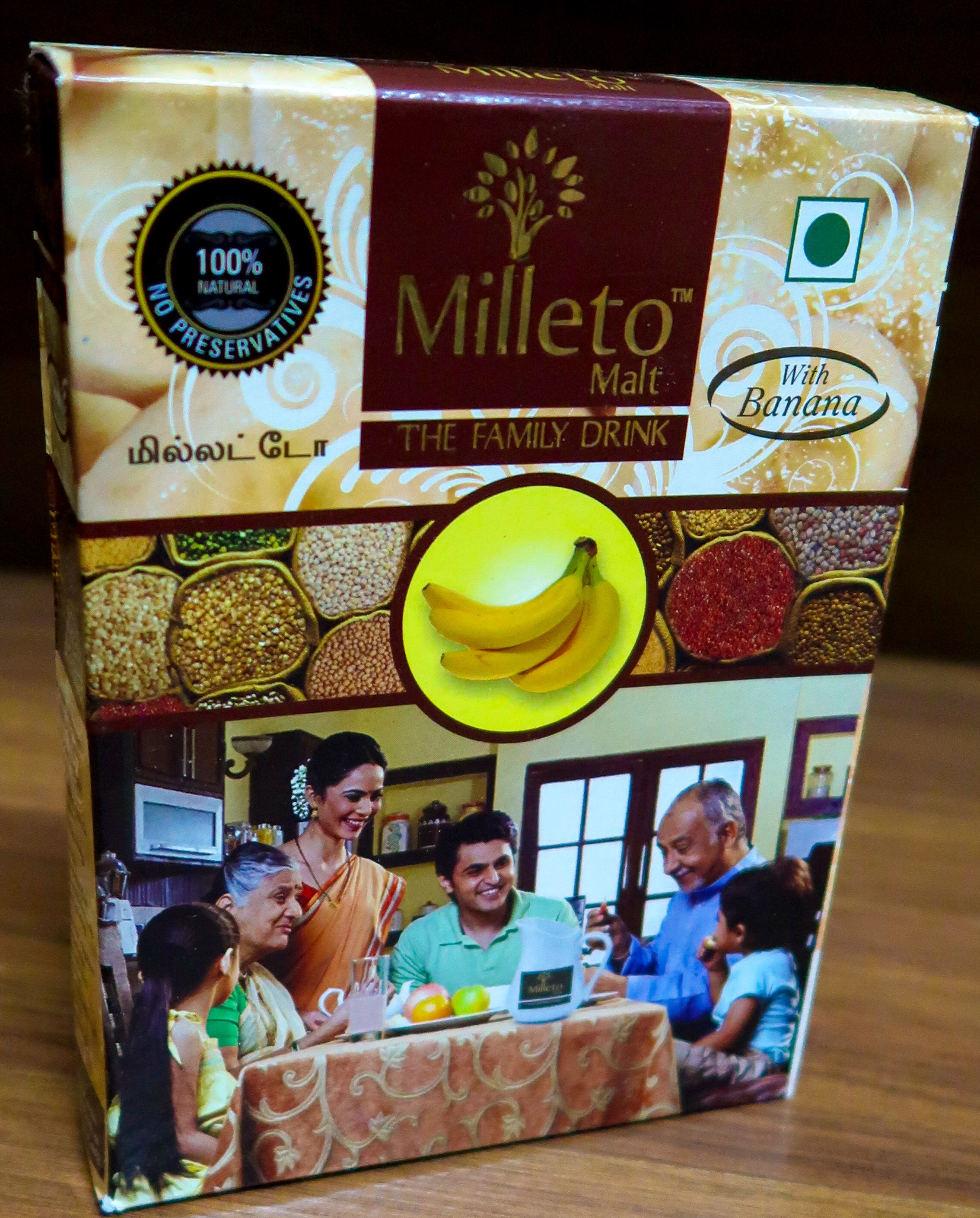 Banana Malt by Milleto, Adhisurya Foods