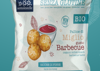 Barbecue Taste Millet Balls by Sottolestelle