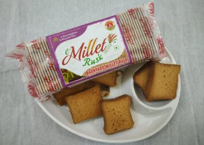 Barnyard Millet Rusk by Moon Foods