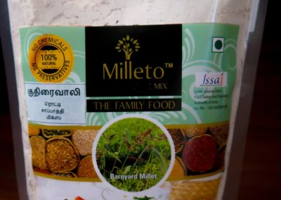 Barnyard Millet Chapati Mix by Milleto, Adhisurya Foods