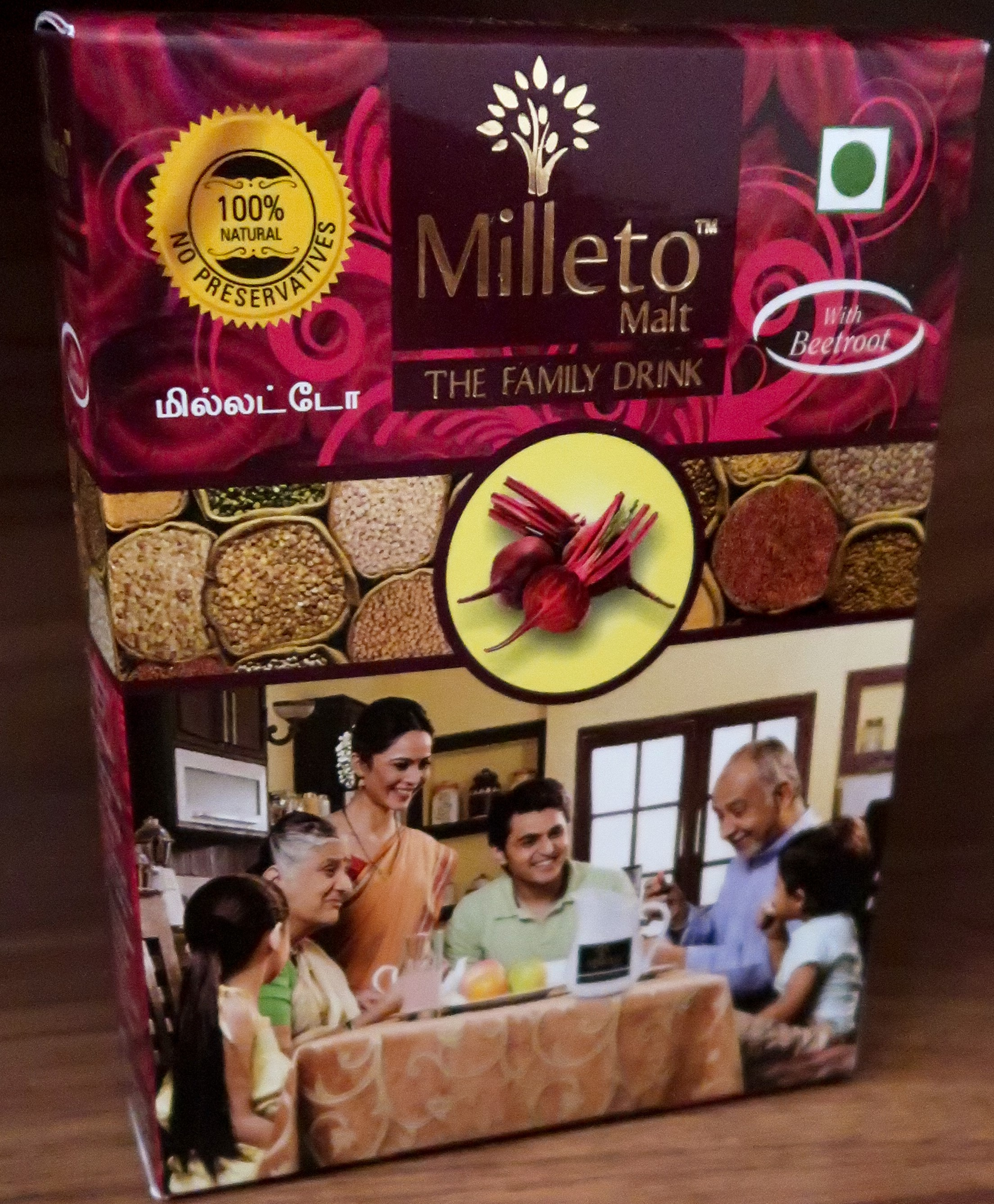 Beetroot Malt by Milleto, Adhisurya Foods