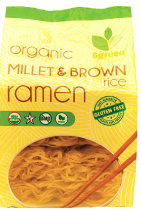 Millet and Brown Rice Ramen