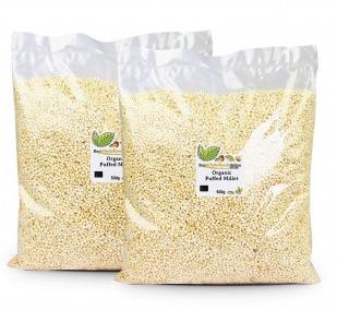 Organic Puffed Millet by buywholefoodsonline.co.uk