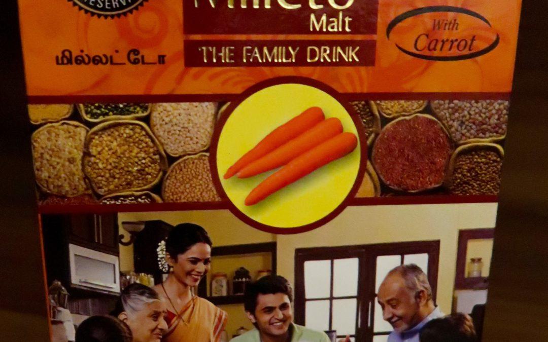 Carrot Malt by Milleto, Adhisurya Foods