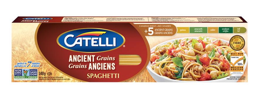 Ancient Grains Spaghetti by Catelli
