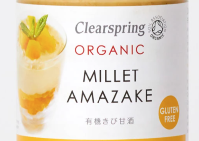 Organic Millet Amazake by Clear Spring