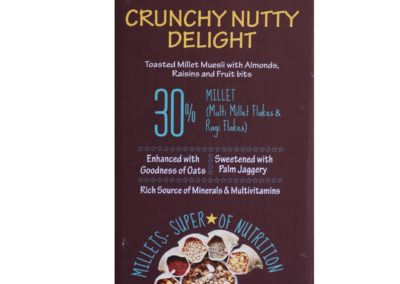 Crunchy Nutty Delight by Millet Mantra