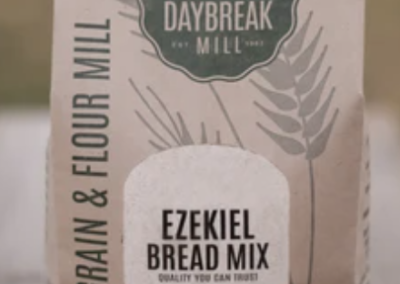 Ezekeil bread mix by Daybreak Mill