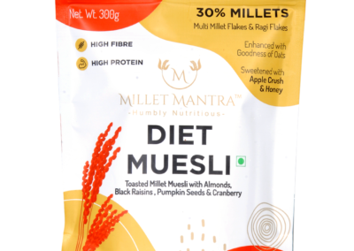 Diet Museli:Toasted Millet Museli by Millet Mantra