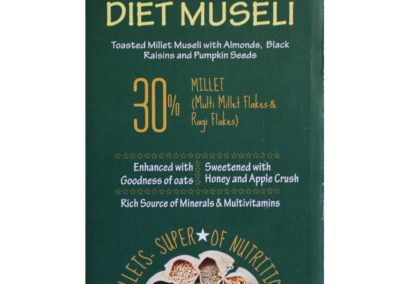 Diet Museli by Millet Mantra