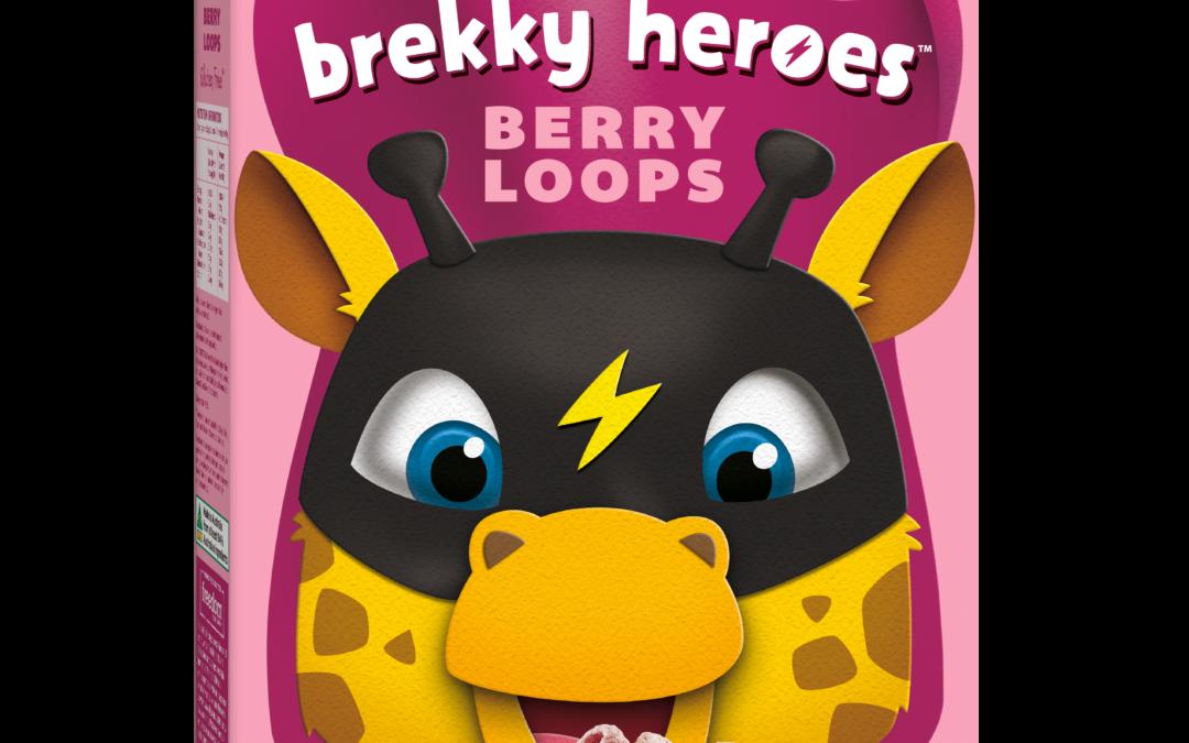 Brekky Heroes Berry Loops by Freedom Foods Pty Ltd