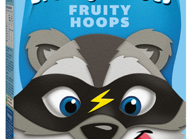 Brekky Heroes Fruity Hoops by Freedom Foods Pty Ltd