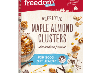 Prebiotic Maple Almond Clusters by Freedom Foods Pty Ltd