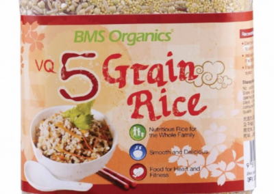 Five Grain Rice by BMS Organics, FMC Greenland