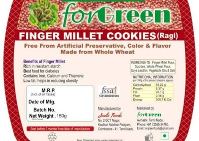 Finger Millet Cookies by Joule Foods