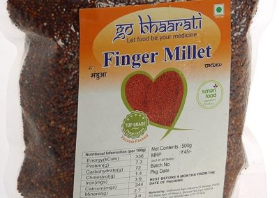 Finger Millet by Go Bhaarati