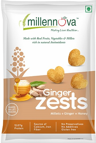 Ginger Zests by Millenova Foods