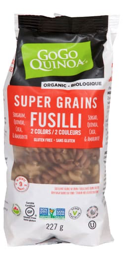Supergrains Elbows Pasta by GoGo Quinoa