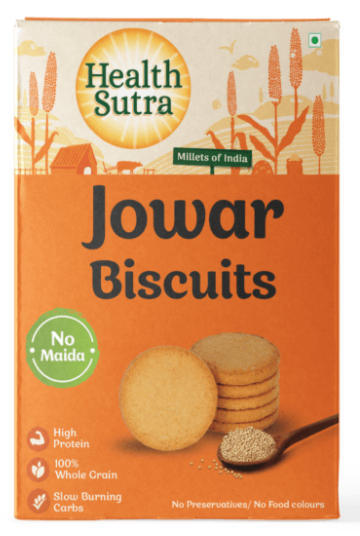 Jowar Biscuits by Health Sutra, Fountainhead Foods