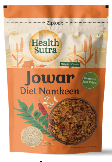 Jowar Diet Namkeen by Health Sutra, Fountainhead Foods