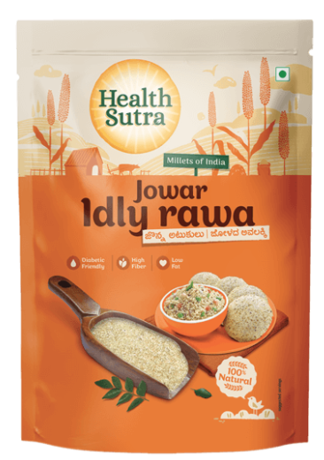 Jowar Idly Rava by Health Sutra, Fountainhead Foods