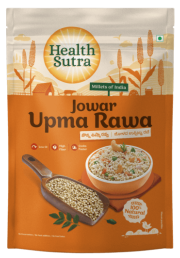 Jowar Upma Rava by Health Sutra, Fountainhead Foods