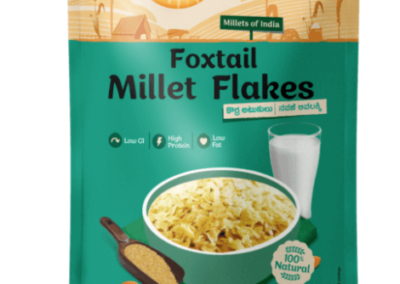 Foxtail Millet Flakes by Health Sutra, Fountainhead Foods