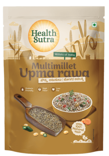 Multimillet Upma Rava by Health Sutra, Fountainhead Foods